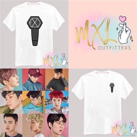 design t shirt kpop exo lightstick kpop t shirt design by sleepiest designs