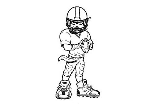 s day football player coloring pages football players