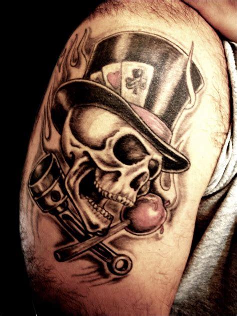 imagenes de calaveras sombreadas impactantes tatuajes de calaveras sal 243 n de tatuajes