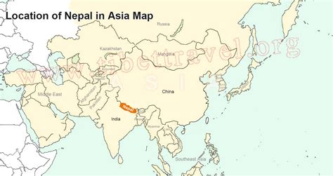 where is nepal on the map nepal map map of nepal nepal tour map tibet vista