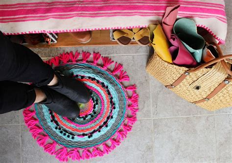 woven circle mat diy a beautiful mess