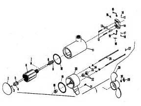 minn kota electric fishing motor replacement parts model 3hp searspartsdirect