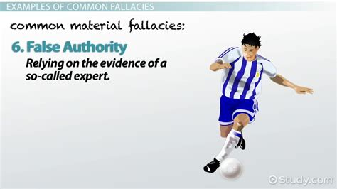 celebrity fallacy definition logical fallacy definition exles video lesson