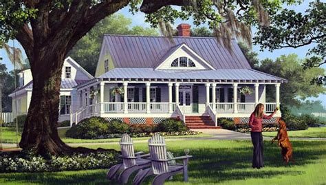 Country Farmhouse Floor Plans by Cottage Country Farmhouse Traditional House Plan 86226