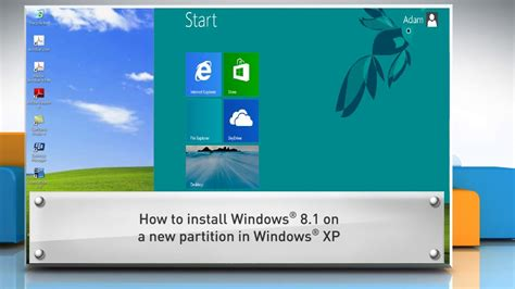 installing xp on windows 8 1 how to install windows 174 8 1 in a new partition with