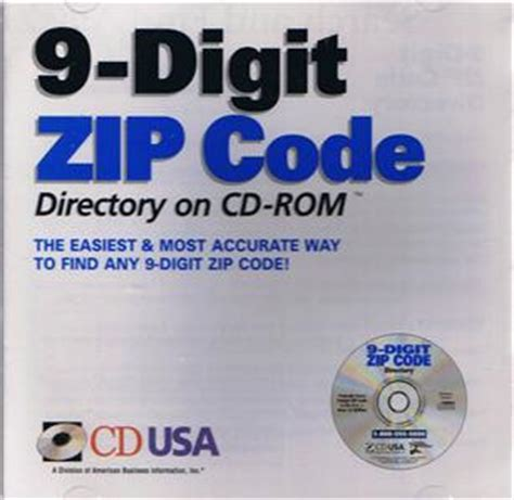 9 Digit Zip Code Lookup By Address 9 Digit Zip Code Directory Pc Cd Post Office Us Postal Codes By Address 25 Mill Ebay