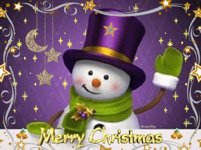 merry christmas snowman picture  blingeecom