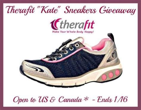 Sneaker Giveaway 2015 - therafit kate sneakers giveaway open to usa can
