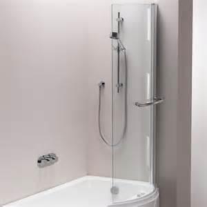 Bathroom With Bath And Shower Pura Bathrooms Arco Shower Bath Screen Bathroomand Co Uk