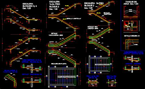 Concrete Block Floor Plans by Detail Staircase Dwg Section For Autocad Designs Cad