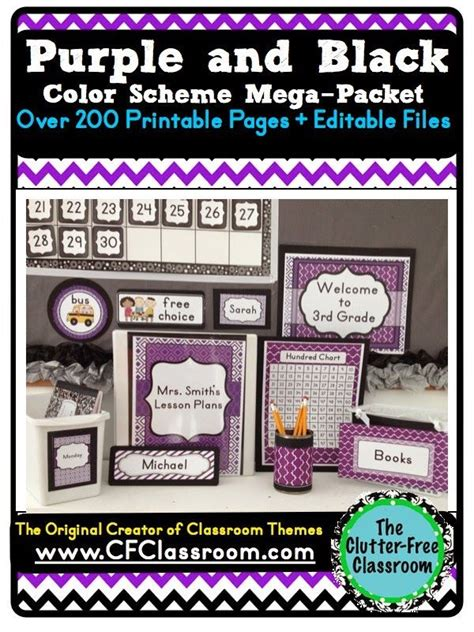 themes the colour purple 53 best purple classroom images on pinterest classroom