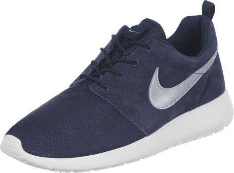 Nike Rhose nike roshe one suede chaussures bleu