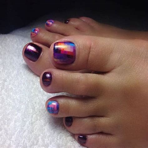 summer toe colors 50 summer toe nail and design ideas for 2019