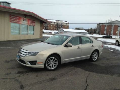 2010 ford fusion trade in value find used 2010 ford fusion sel navigation sony