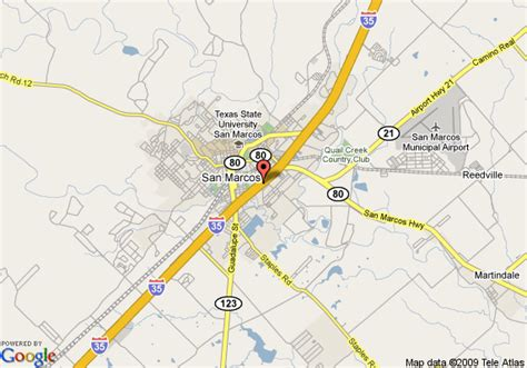 where is san marcos texas on a map map of best western san marcos san marcos