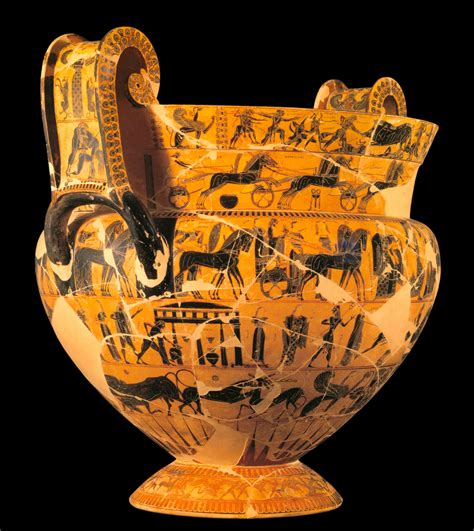 The Francois Vase by Middle Archaic Period 750 570 520 History 222 002