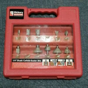 hickory woodworking  shank carbide router bits ebay