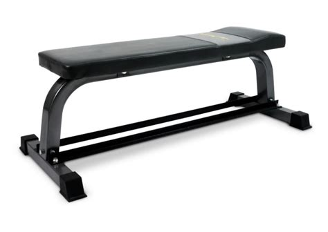 dumbbell flat bench bodymax cf302 flat bench with dumbbell rack