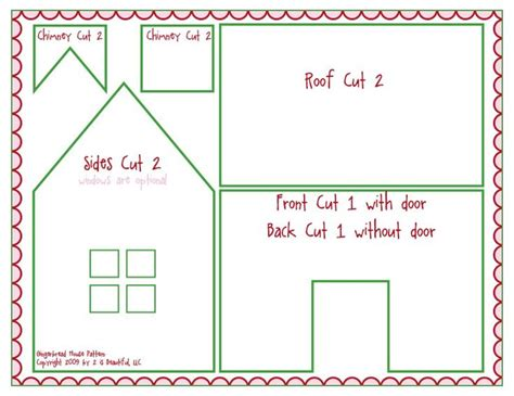 gingerbread house pattern printable 63 best images about gingerbred houses on pinterest