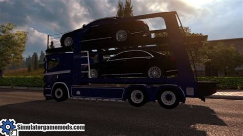 daf 6 painted front grill tuning simulator