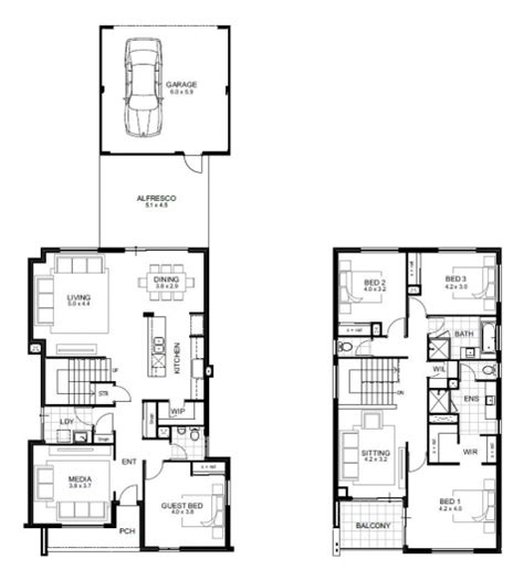 double storey 4 bedroom house designs perth apg homes awesome double storey 4 bedroom house designs perth apg