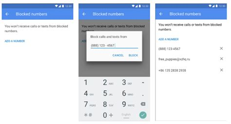 block number on android implementing block phone numbers android open source project