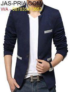 Promo Blazer Pria Blazer Casual Blazer Santai Blazer Murah Bla contoh gambar jas buat anak muda yang odelnya keren dan modis bisa dipakai formal dan santai