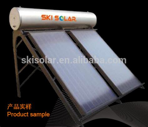 Sphelar Is Prettier And More Efficient Than Flat Solar Cells by Flat Plate Non Pressure Solar Water Heater With Coil