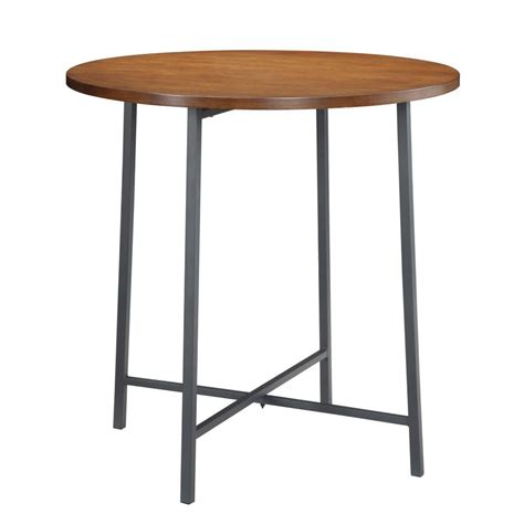 36 inch round pub table carolina forge berkshire 36 inch round bar table the