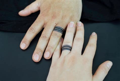 a d for tattoos 55 wedding ring designs meanings true