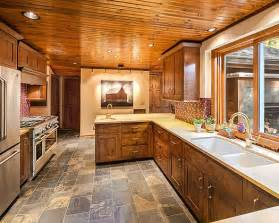 Kitchen Paint Colors With Pine Cabinets Quartz Counters And Knotty Pine Cabinets Wishes Do Come True Pin
