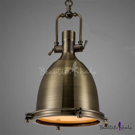 industrial look pendant lights industrial 1 light dome shade pendant light glass