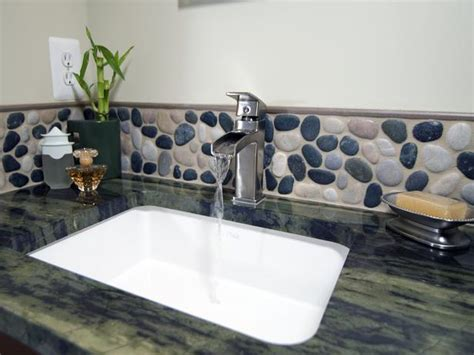 bathroom sink backsplash ideas backsplash