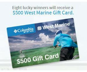 West Marine Gift Card - win a 500 west marine gift card free sweepstakes contests giveaways