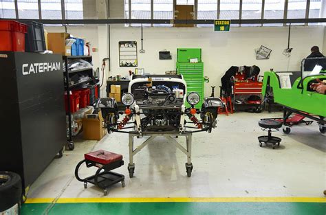 caterham quot autonomous and electric cars are an