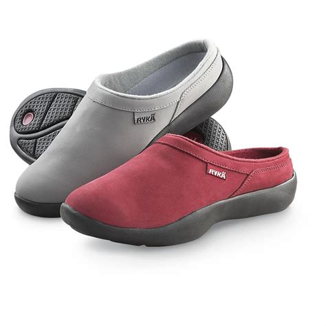 are clogs comfortable women s ryka 174 comfort clogs 177865 casual shoes at