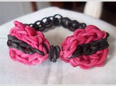 Rainbow Loom - Bow Tie Single Chain Bracelet ... Rainbow Loom Bow Tie Bracelet