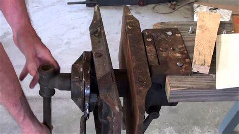 types of woodworking vises antique emmert pattern maker s vise tubalcain