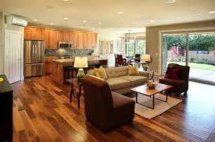 open floor plan kitchen living room design together with log home concept ideas style motivation