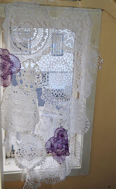 doily curtains av susanne in english doily curtain