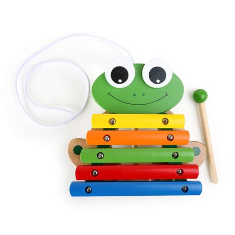 Animal Xylophone wooden colourful animal xylophone by baby company