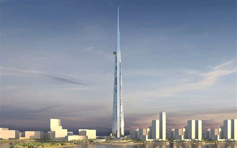 Kingdom Tower: How The World's Next Tallest Building Will Be Built   Gizmodo Australia