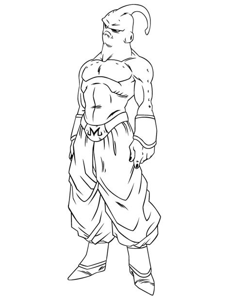 dragon ball character coloring page h m coloring pages dragon ball z super buu coloring page h m coloring pages