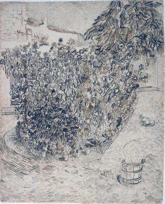 van gogh tuin van gogh museum tuin van een badhuis 1888 dutch