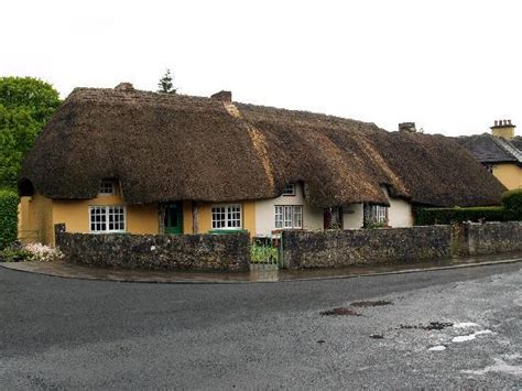 thatched cottages at adare picture of adare county