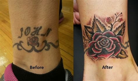 small name tattoo cover up ideas cover up tattoos names designs piercing