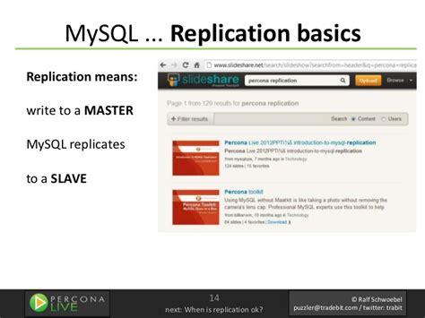 xp mysql replication tutorial mysql install for replication real life tutorial