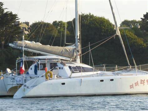 lerouge catamaran design lerouge 42 freydis en manche catamarans voile d occasion
