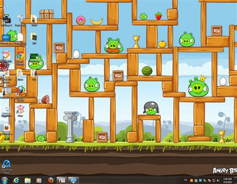 theme windows 7 jungle angry birds theme download