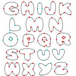 lettering templates letter stencils 2010 printable letters